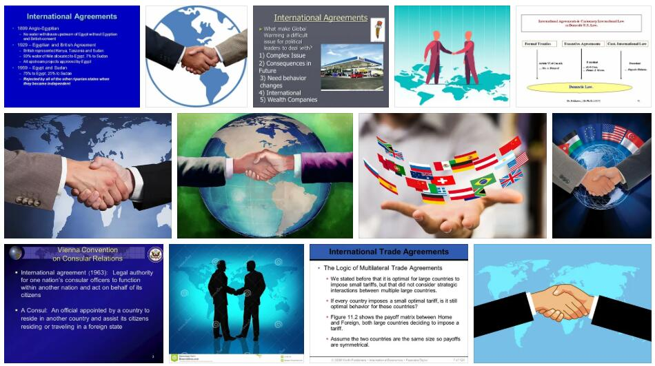International Agreement Definition and Meaning