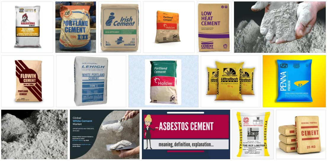 Cement Definition and Meaning
