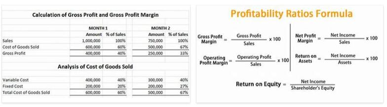 Profit Comparison Calculation Definition and Meaning